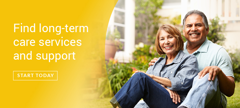Find long-term care services and support